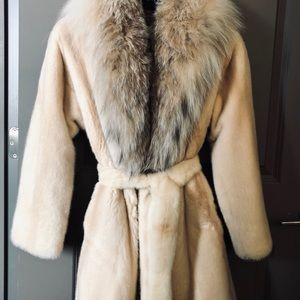 Jackets & Blazers - Mink and lynx authentic fur